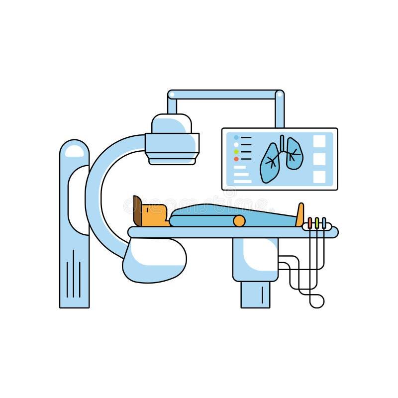 Concepto de la ayuda médica stock de ilustración