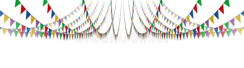 Concepto de la bandera del empavesado libre illustration