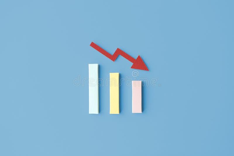 Concepto de la carta de los hechos de la información del negocio del análisis de datos ilustración del vector