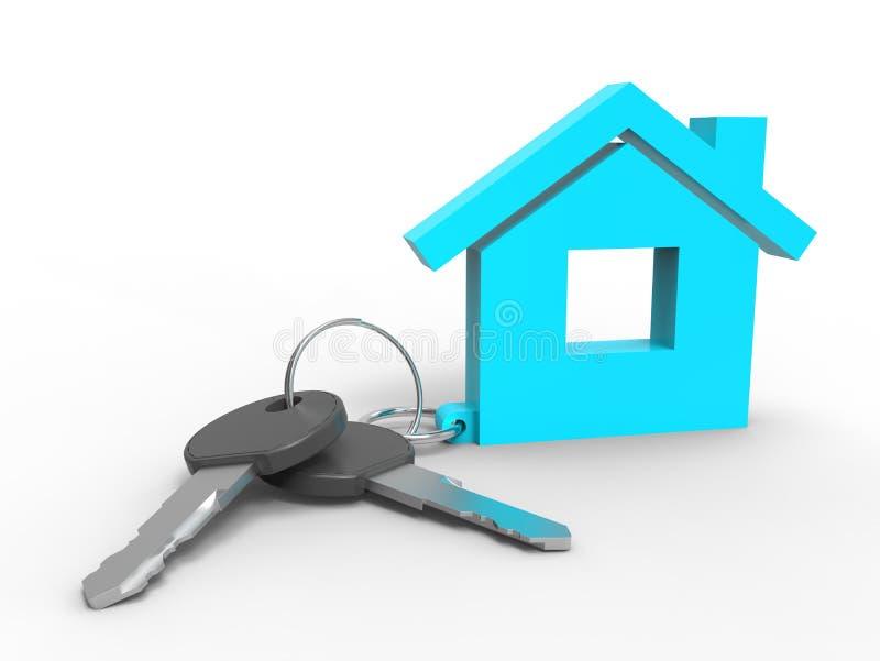 Concepto de la casa de la venta stock de ilustración