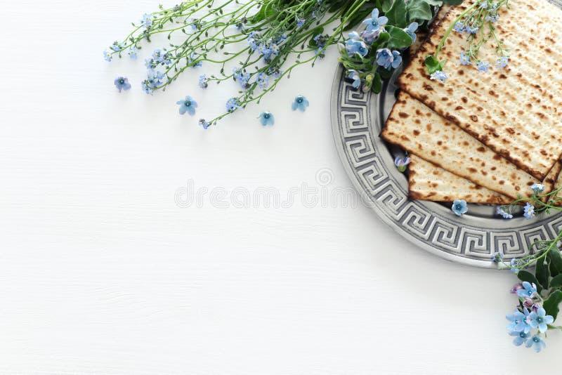 Concepto de la celebración de Pesah y x28; día de fiesta judío de la pascua judía imagen de archivo libre de regalías