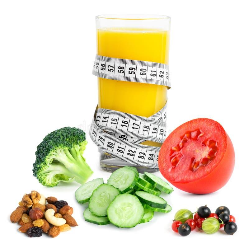 Concepto de la comida de la dieta sana fotografía de archivo