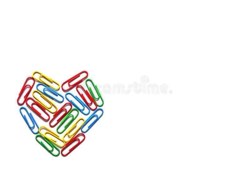Concepto de la conciencia del autismo con el corazón colorido foto de archivo