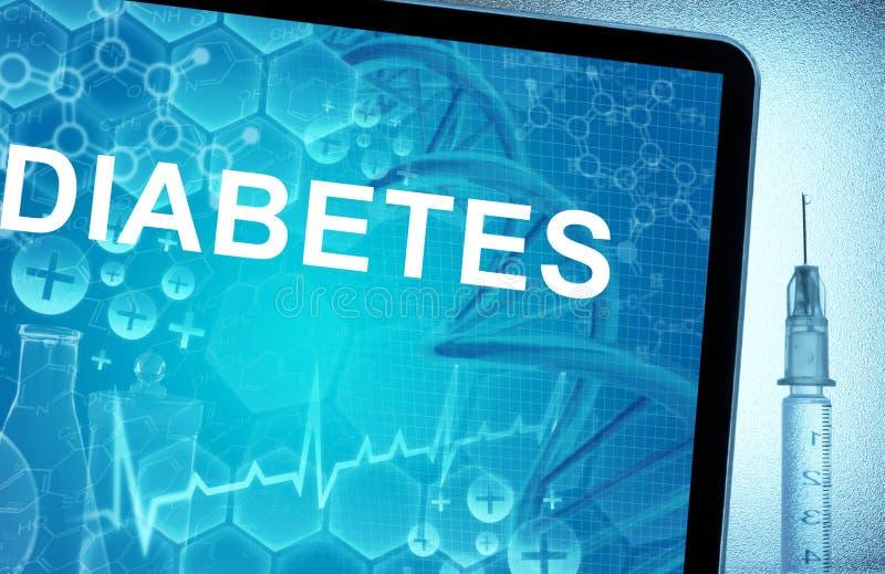 Concepto de la diabetes libre illustration