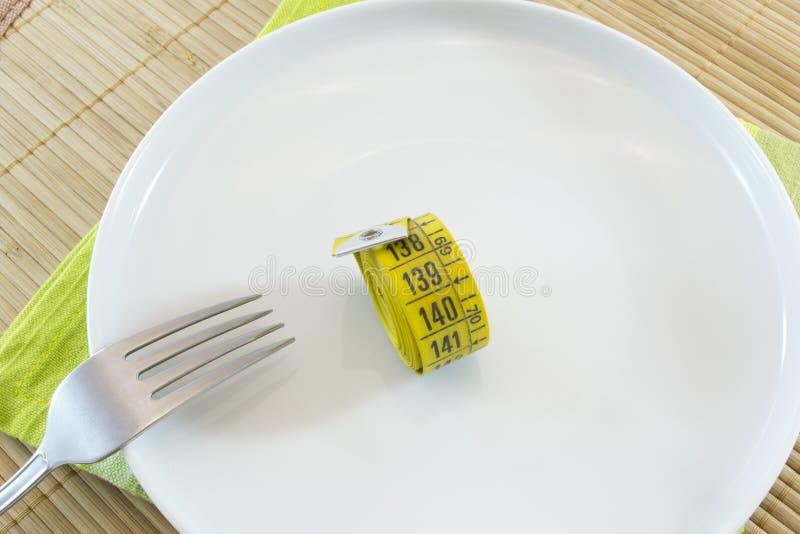 Concepto de la dieta imagenes de archivo