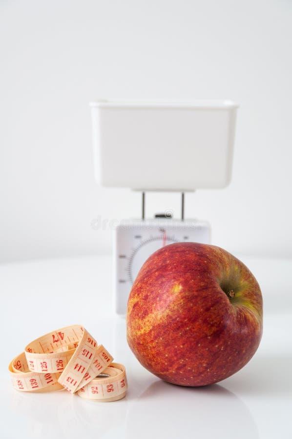 Concepto de la dieta imágenes de archivo libres de regalías
