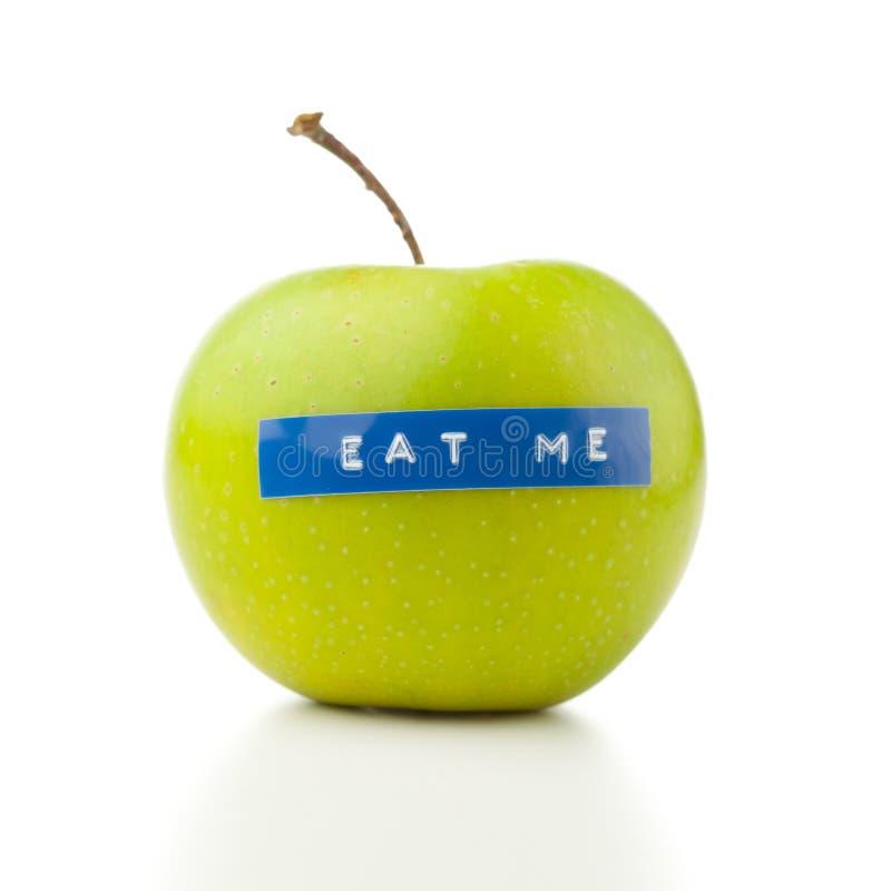 Concepto de la dieta de Apple imagenes de archivo