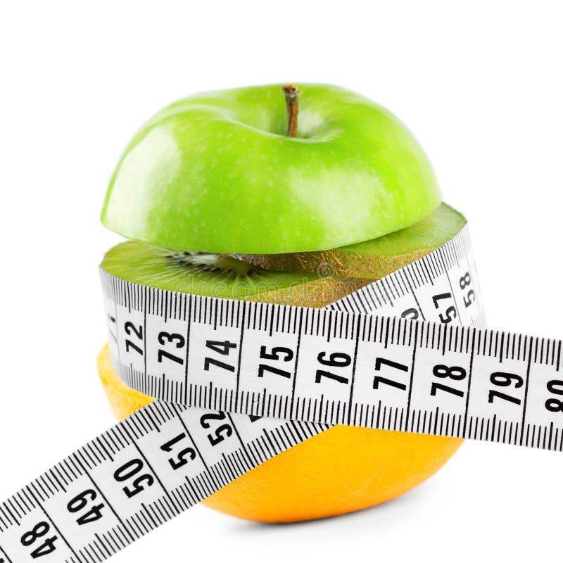 Concepto de la dieta sana foto de archivo
