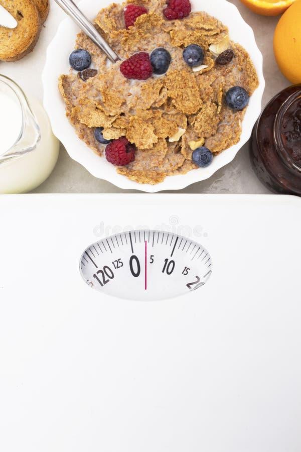 Concepto de la dieta y perder el peso foto de archivo libre de regalías