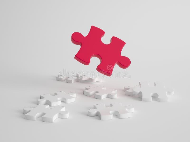 Concepto de la dirección, de la solución y de la calidad ilustración del vector