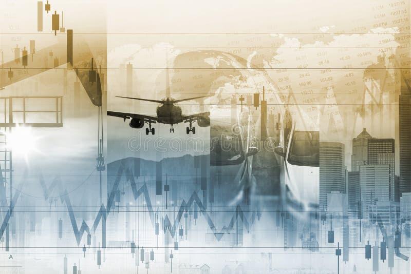Concepto de la economía mundial ilustración del vector