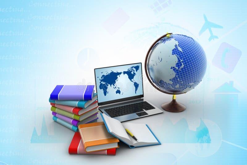 Concepto de la educación libre illustration