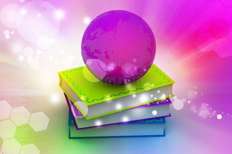 Concepto de la educación stock de ilustración