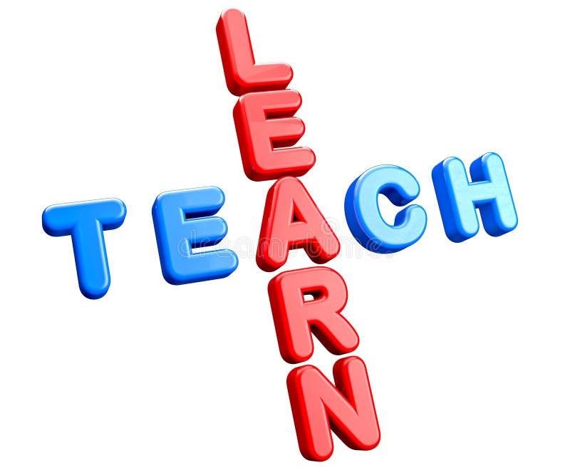 Concepto de la educación ilustración del vector