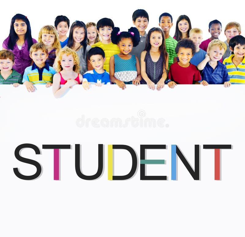 Concepto de la educación de School Learning Intern del estudiante imagen de archivo libre de regalías