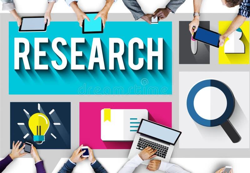 Concepto de la educación del descubrimiento del conocimiento de la información de la investigación libre illustration