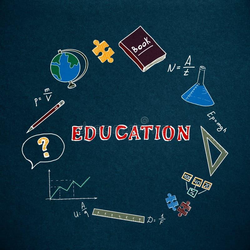Concepto de la educaci?n y del conocimiento libre illustration