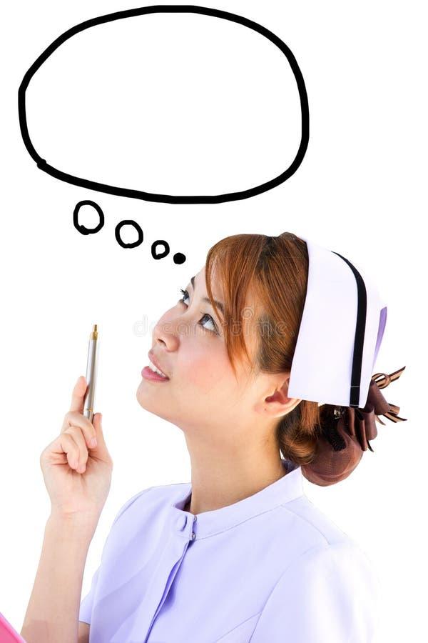 Concepto de la enfermera imagen de archivo libre de regalías