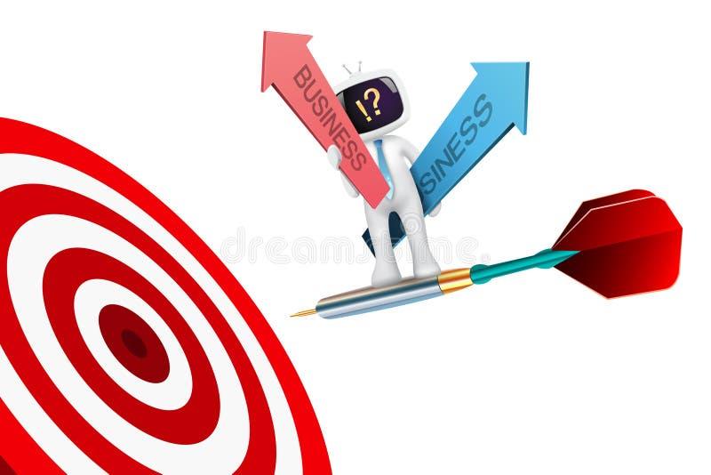 Concepto de la estrategia empresarial libre illustration