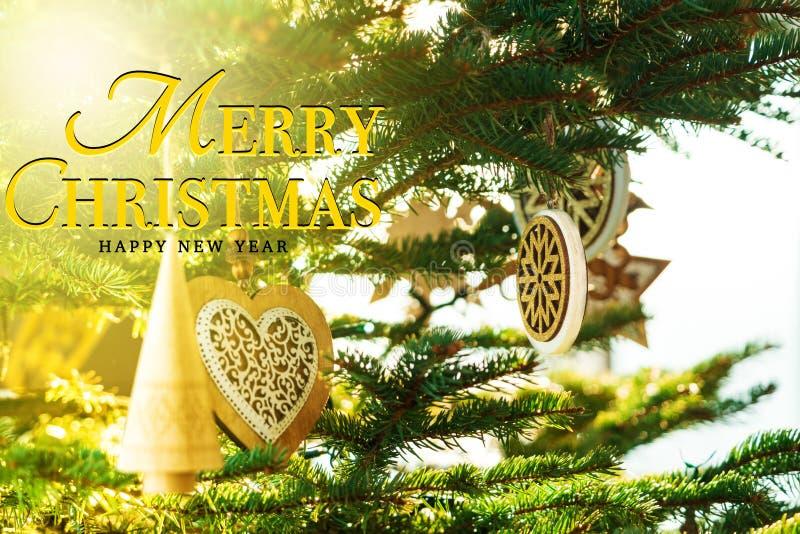 Concepto de la Feliz Navidad y de la Feliz Año Nuevo fotos de archivo libres de regalías