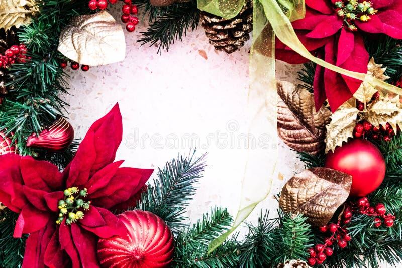 Concepto de la Feliz Navidad y de la Feliz Año Nuevo fotografía de archivo libre de regalías
