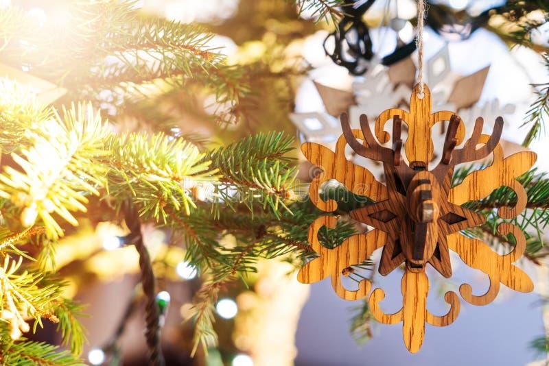 Concepto de la Feliz Navidad y de la Feliz Año Nuevo foto de archivo
