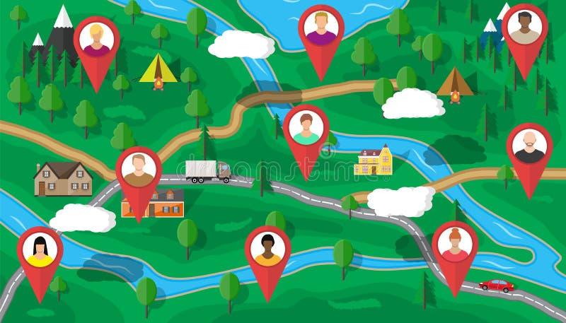 Concepto de la gestión de recursos humanos libre illustration