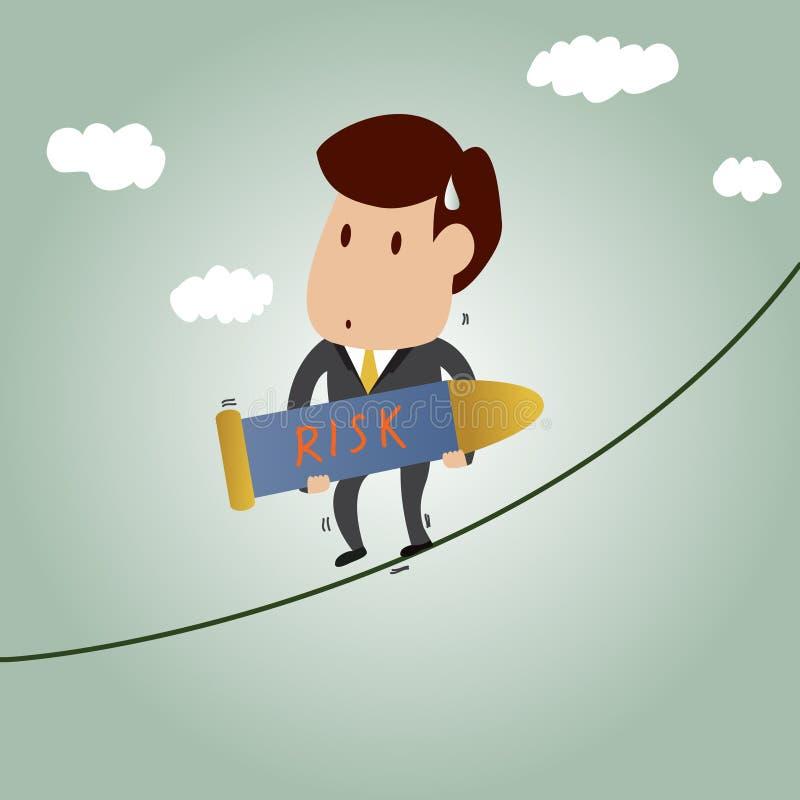 Concepto de la gestión de riesgos libre illustration