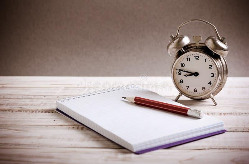 Concepto de la gestión de tiempo fotografía de archivo