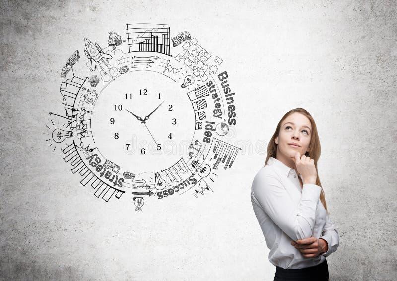 Concepto de la gestión de tiempo imagen de archivo libre de regalías