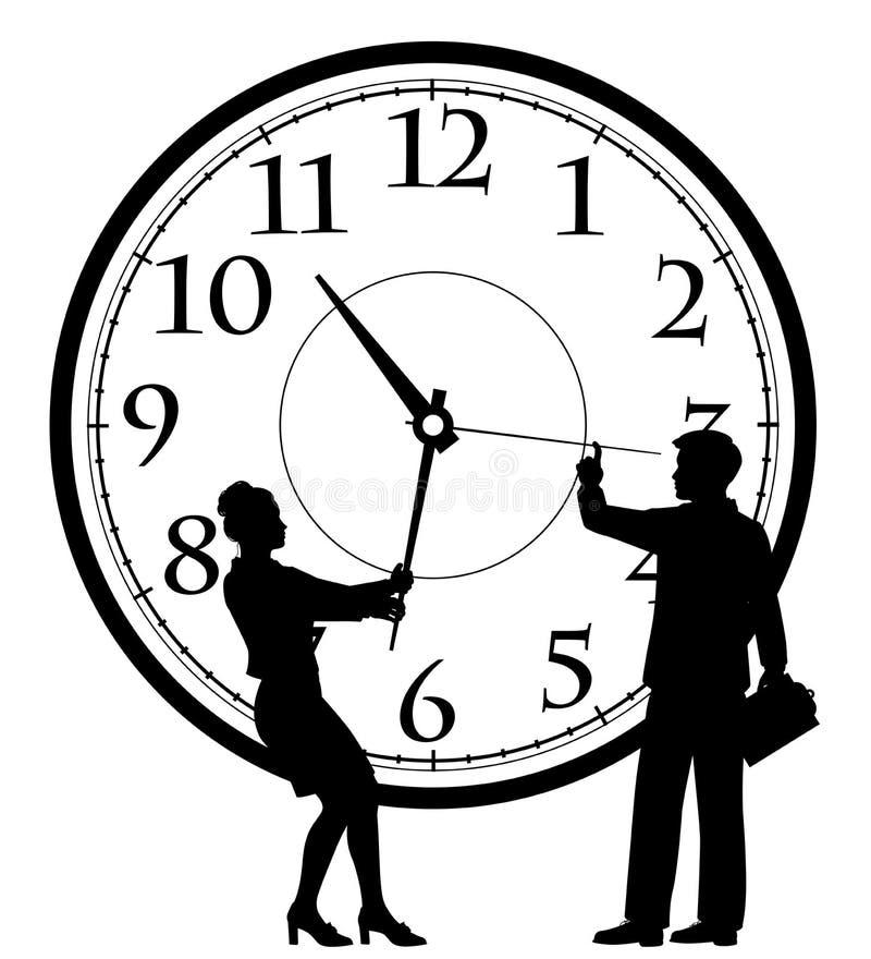 Concepto de la gestión de tiempo libre illustration
