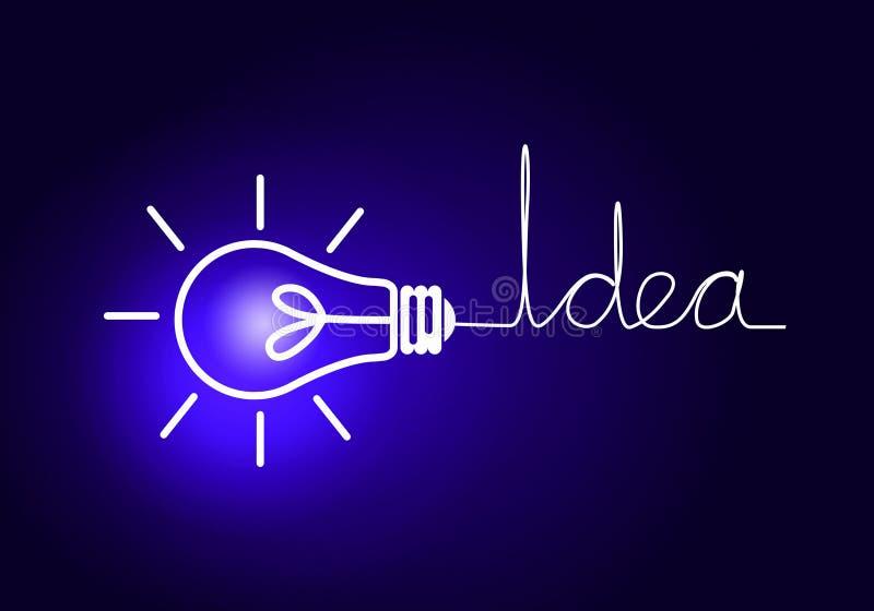 Concepto de la idea ilustración del vector