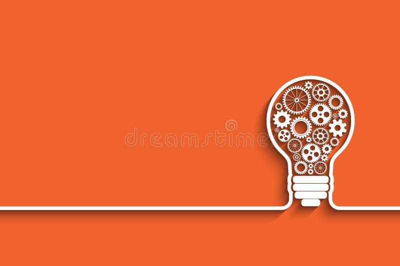 Concepto de la idea, ilustración del vector
