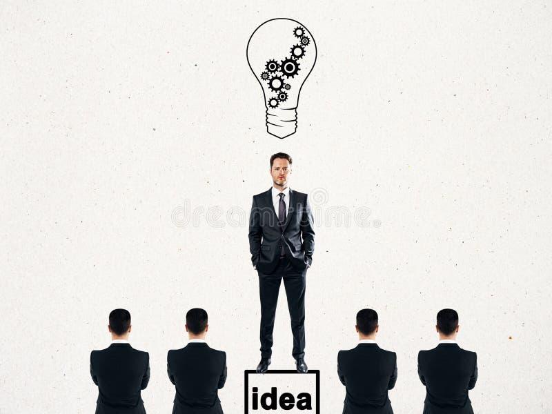 Concepto de la idea y de la direcci?n foto de archivo libre de regalías