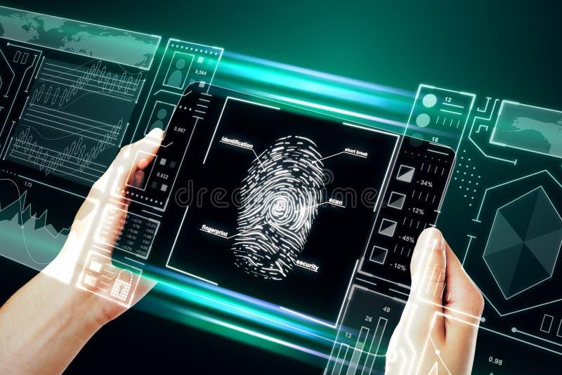 Concepto de la identificación y de la innovación imagenes de archivo