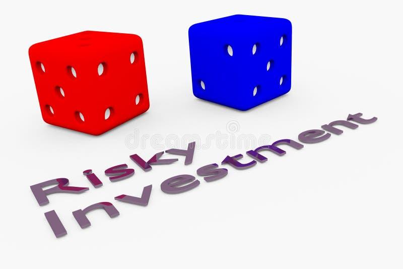 Concepto de la inversión aventurada libre illustration