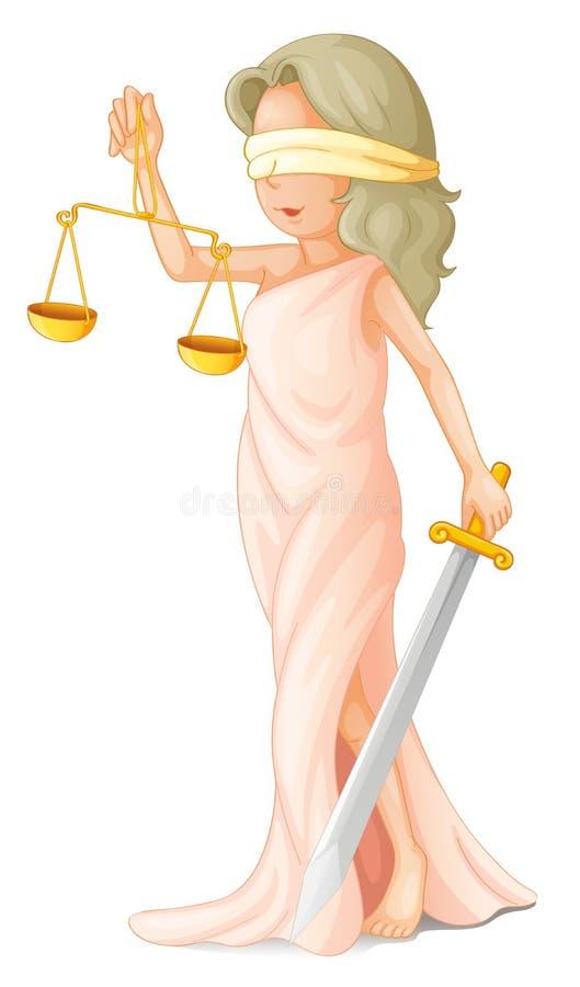 Concepto de la ley stock de ilustración