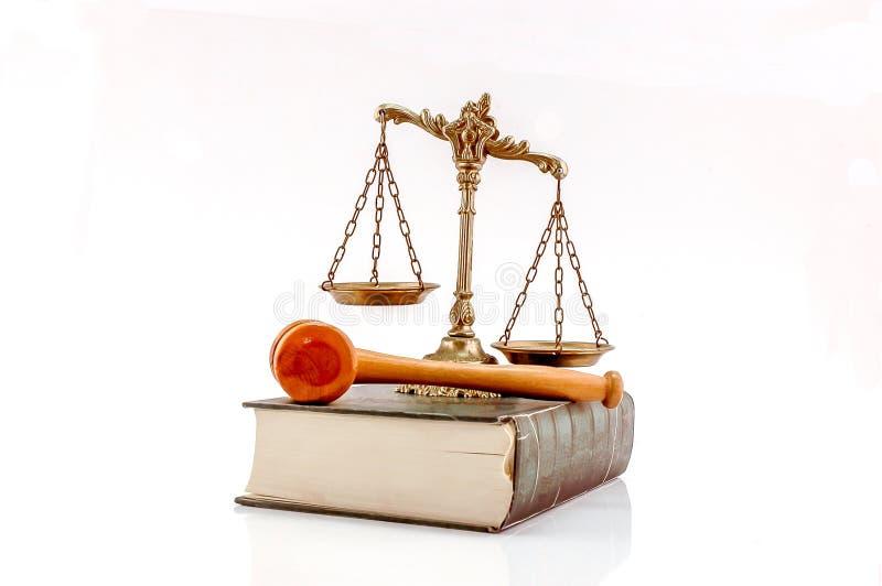 Concepto de la ley y orden fotos de archivo