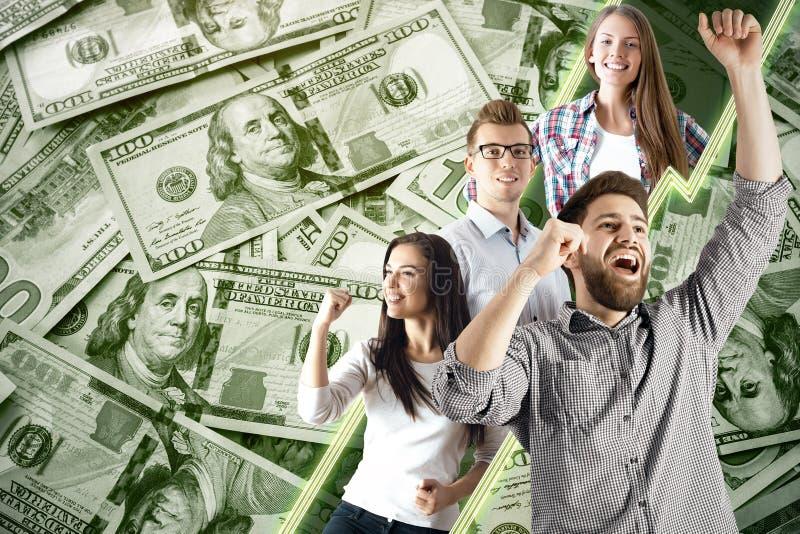 Concepto de la lotería imágenes de archivo libres de regalías