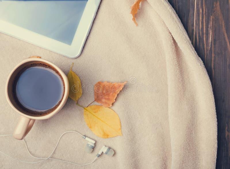 Concepto de la mañana del otoño foto de archivo libre de regalías