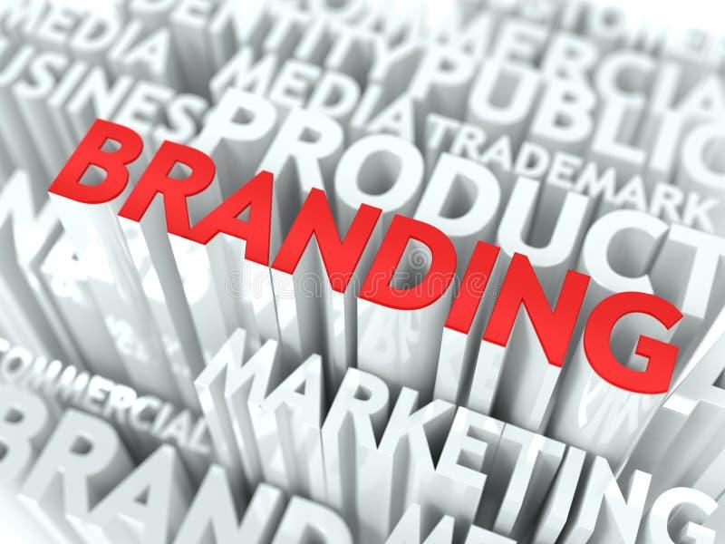 Concepto de la marca. ilustración del vector