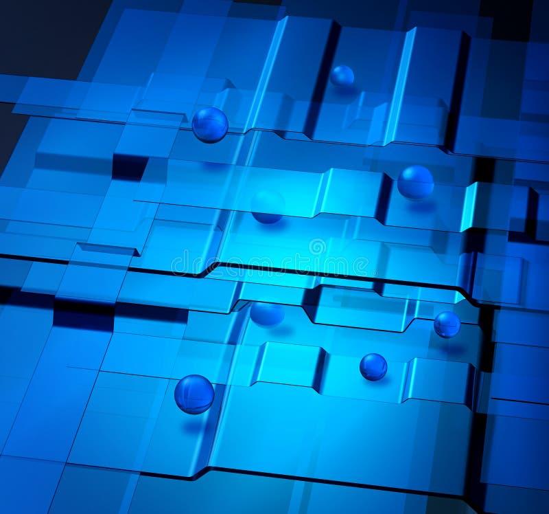 Concepto de la nanotecnología libre illustration