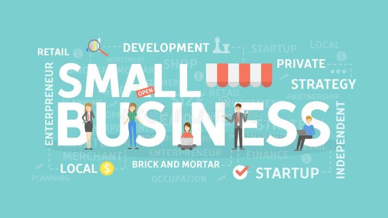 concepto de la pequeña empresa libre illustration