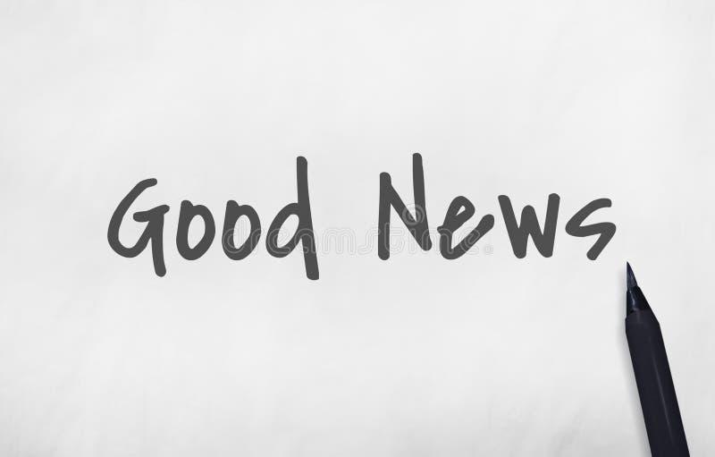 Concepto de la publicación del aviso de la información de las noticias de última hora stock de ilustración