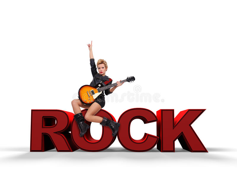 Concepto de la roca fotografía de archivo libre de regalías