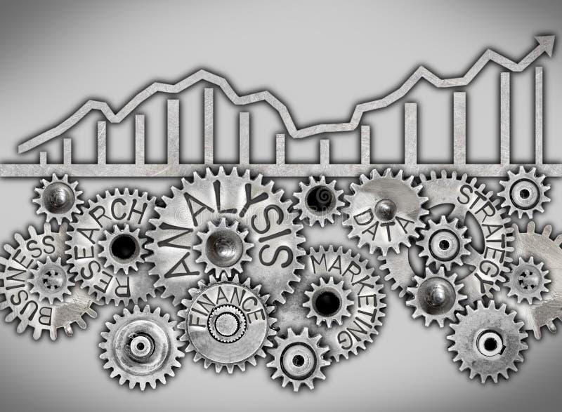Concepto de la rueda del metal libre illustration