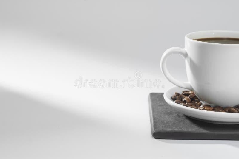 Concepto de la taza de café imágenes de archivo libres de regalías