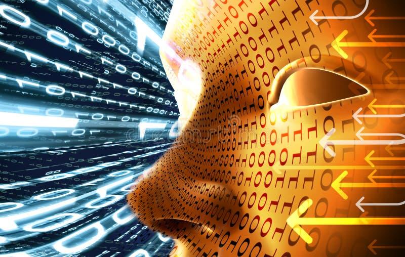 Concepto de la tecnología stock de ilustración