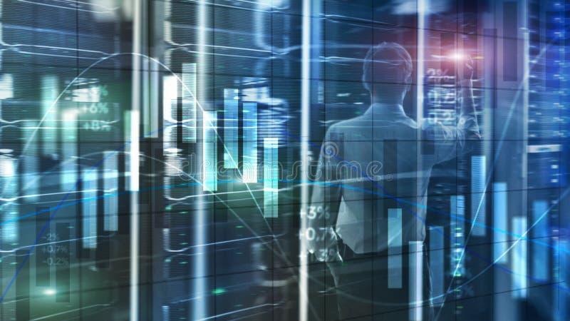 Concepto de la tecnología de Internet de la protección de datos de la privacidad de la información de Cybersecurity ilustración del vector