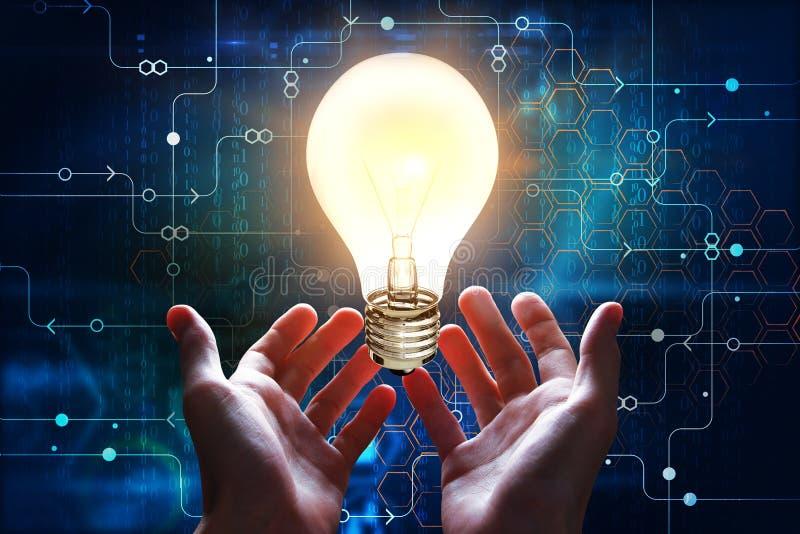 concepto de la tecnología y de la innovación imagen de archivo